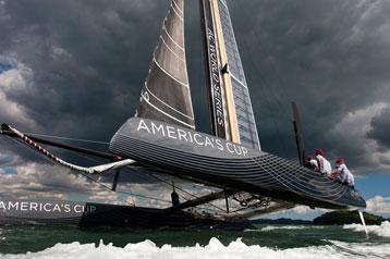 America's Cup boat 2