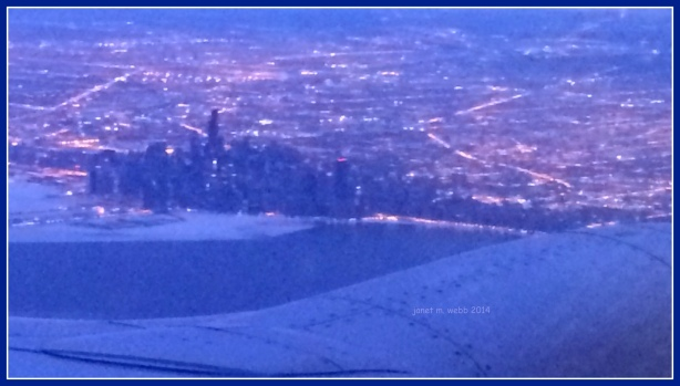 Abstract of Chicago from the sky