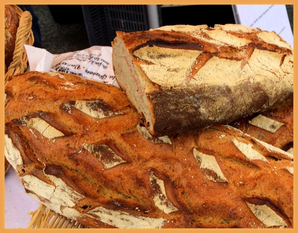 Gorgeous, enormous and delicious organic bread