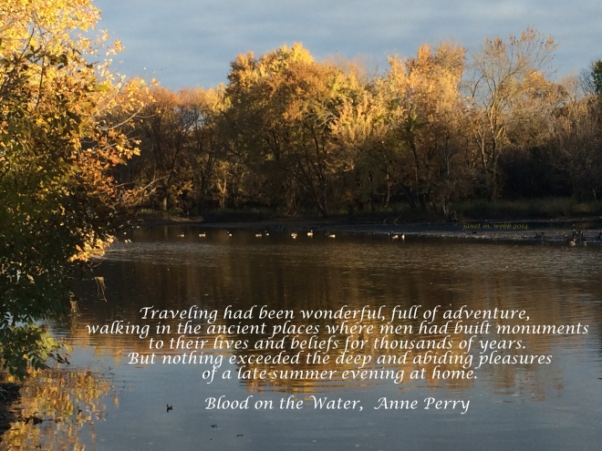 Blood on the Water,  Anne Perry