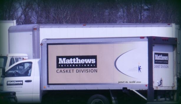casket truck copyright janet m. webb 2011